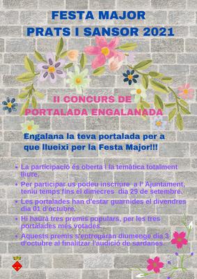 CONCURS PORTALADES ENGALANADES FESTA MAJOR