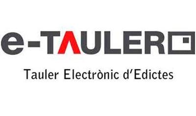 Tauler Edictes Electrònic